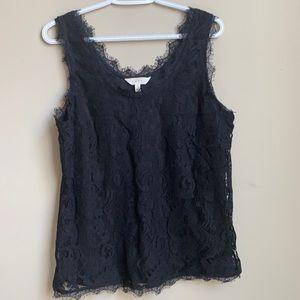Adiva lace top size L